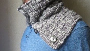 ae4a54f816d7 Snood  1  point de bambou   Clothing   Pinterest   Snood, Aldo and Clothes