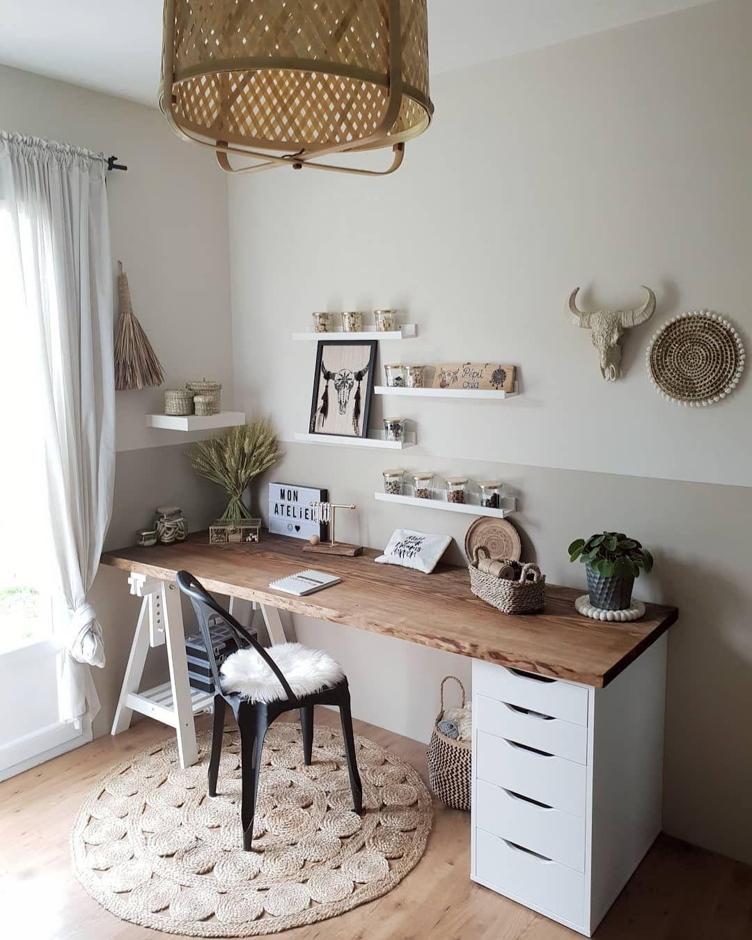 """Photo of IKEA Australia su Instagram: """"@pepit_home ha utilizzato i cassetti ALEX e il cavalletto FINNVARD per una postazione di lavoro organizzata in cui si impiega molto tempo a realizzare …"""""""