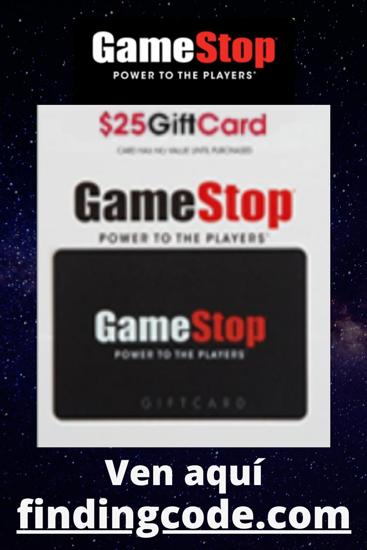 Tarjeta De Regalo De Gamestop Gift Card Gift Card Generator Get Gift Cards