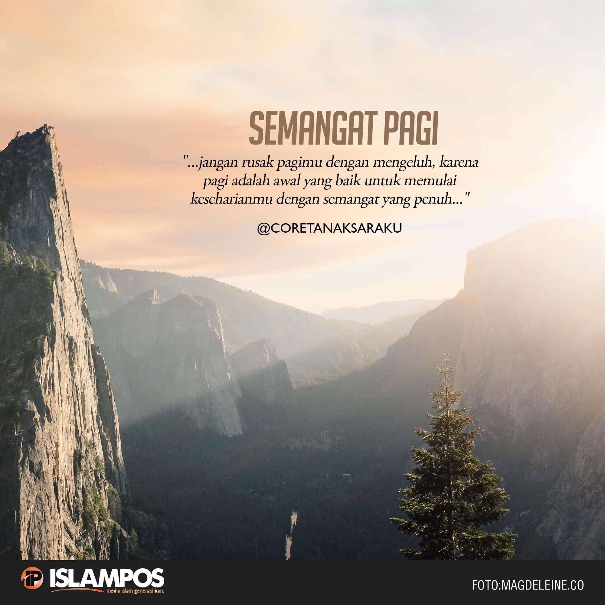 Semangat Pagi Dengan Gambar Kata Kata Alkitab Islamic Quotes