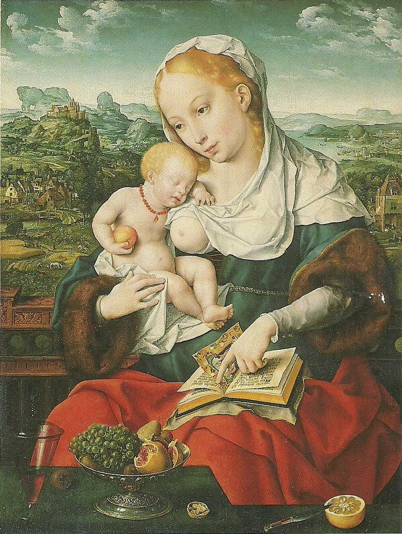 Virgin and Child - Joos van Cleve, Flemish, active by 1507, The Metropolitan Musuem of Art