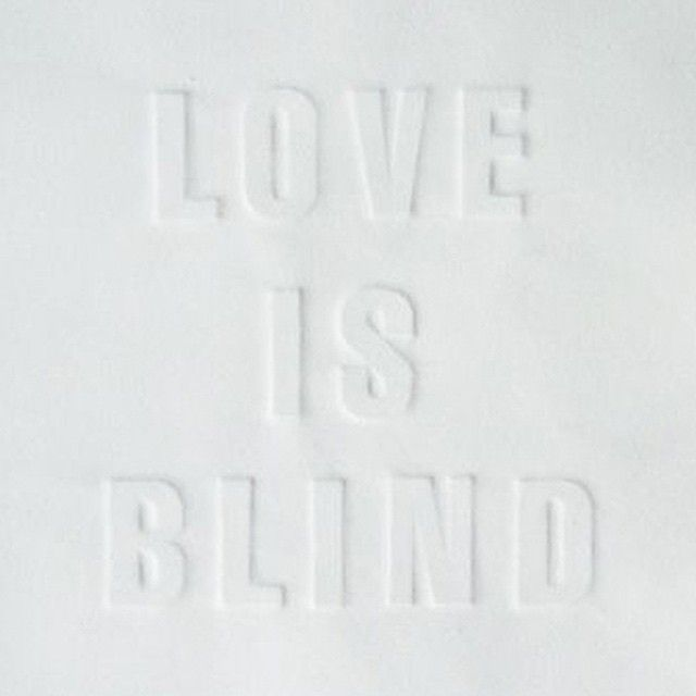 The Blind #leading #the #blind.  #happy #true#love #happyvalentinesday #vday #day #word #truth #quote #qotd #white #typography #art #nice