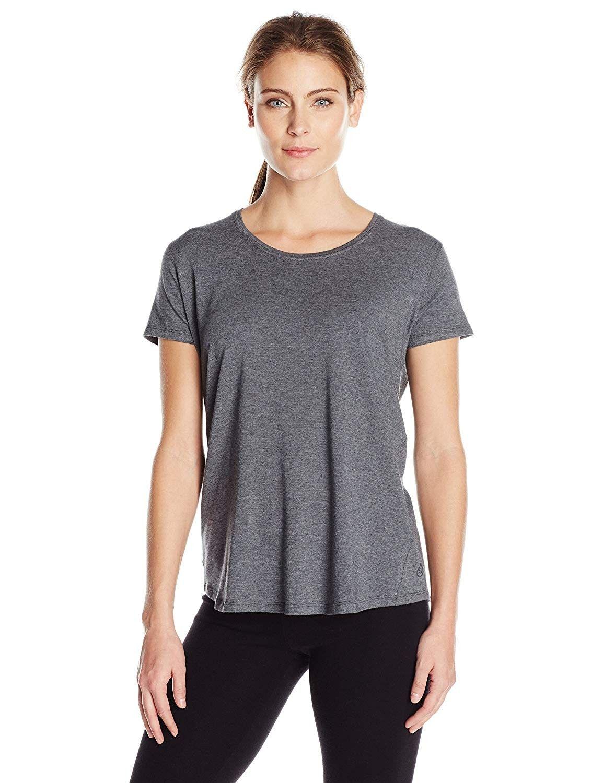 women's jubilee tee - black heather - x-small - CK12N0K3JHD - Sports & Fitness Clothing, Women, Shir...