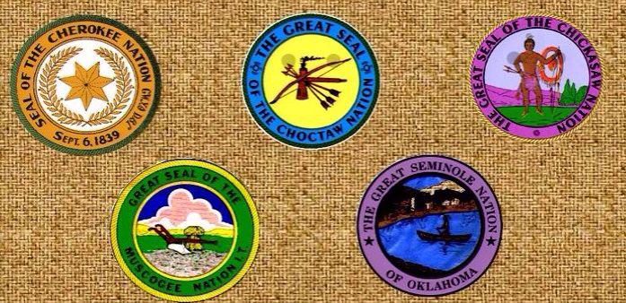 Five Civilized Tribe Seals
