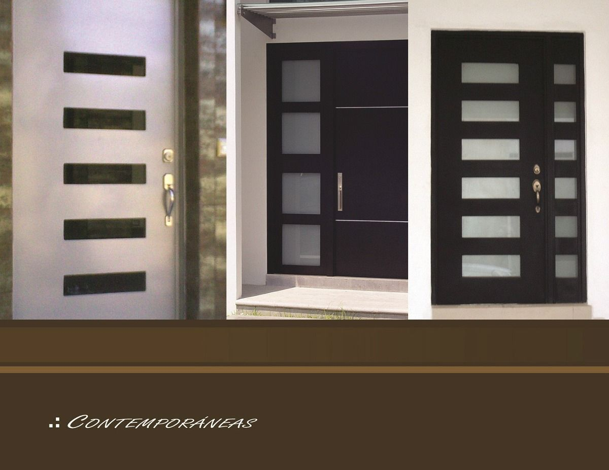 Protecciones modernas para ventanas buscar con google - Puertas de exterior modernas ...