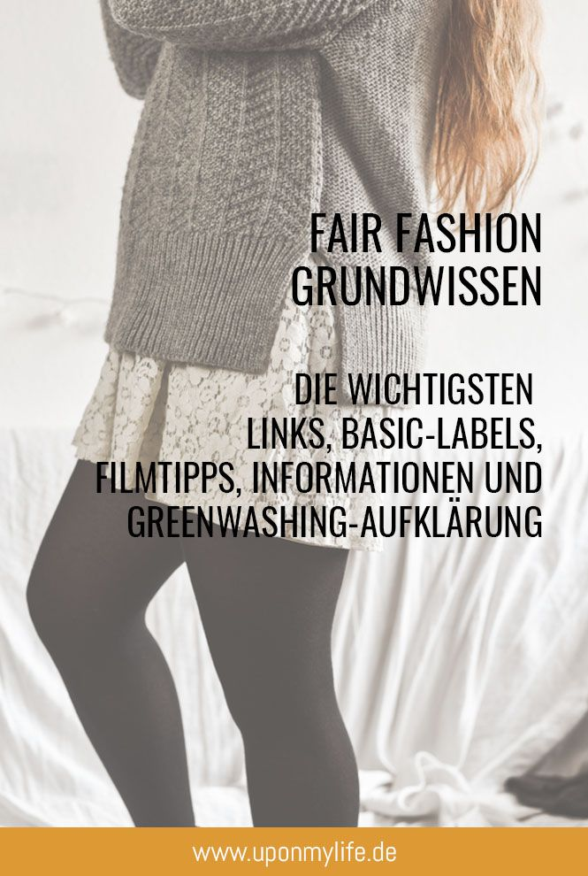 Fair Fashion Basics #fashionwear