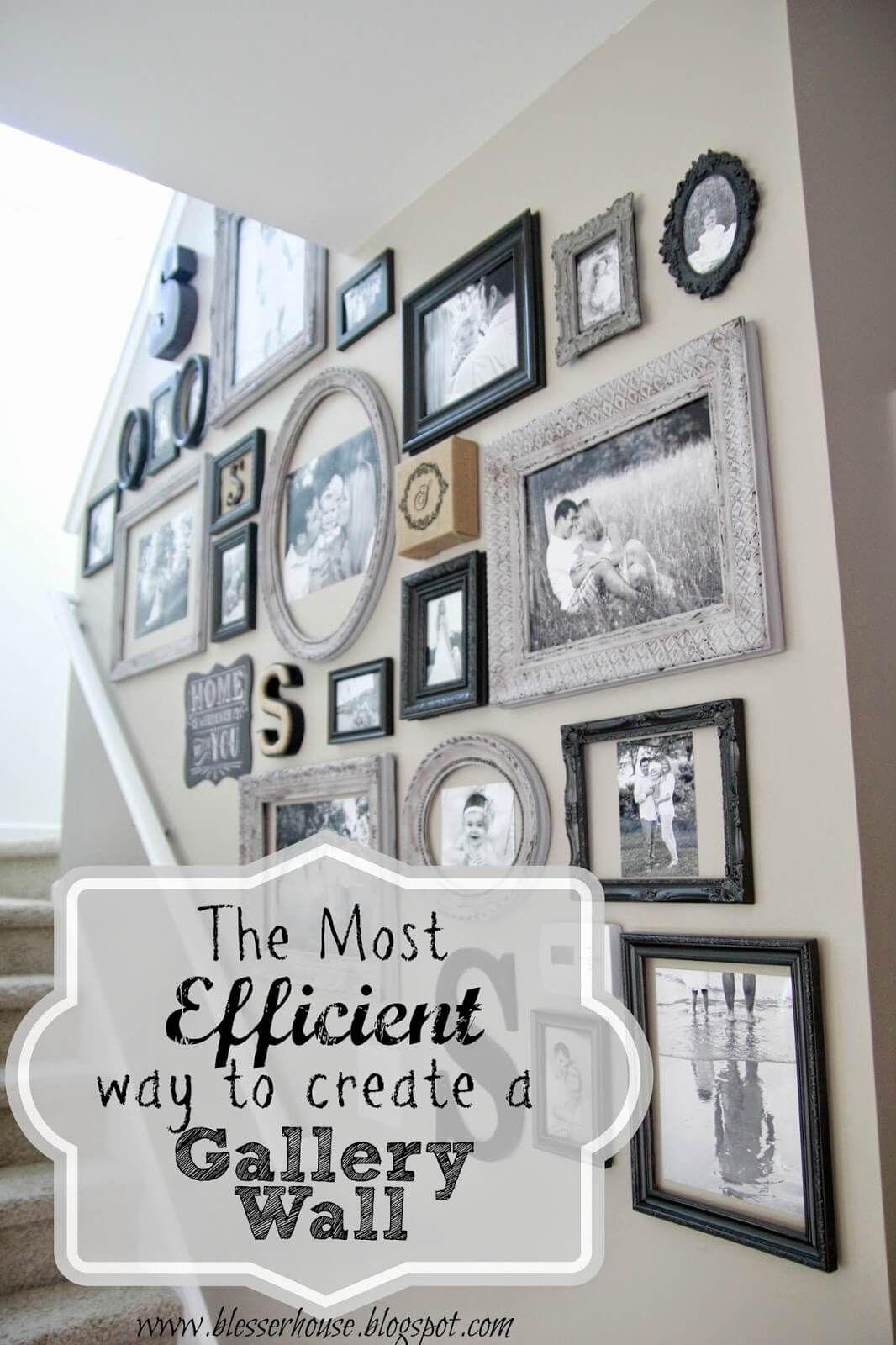Appendere Quadri Su Scale 32 splendide idee per la casa ispirate alla decorazione