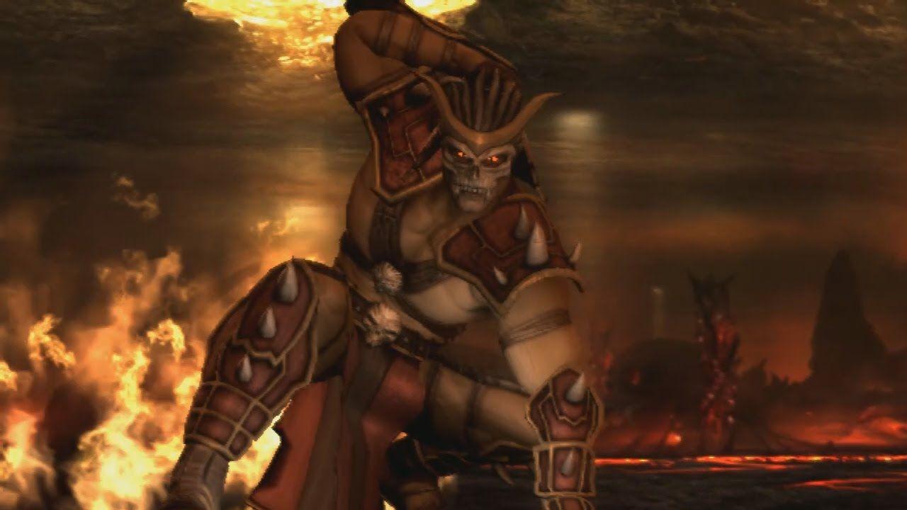 Mortal Kombat 9 Komplete Edition Shao Kahn All Intro