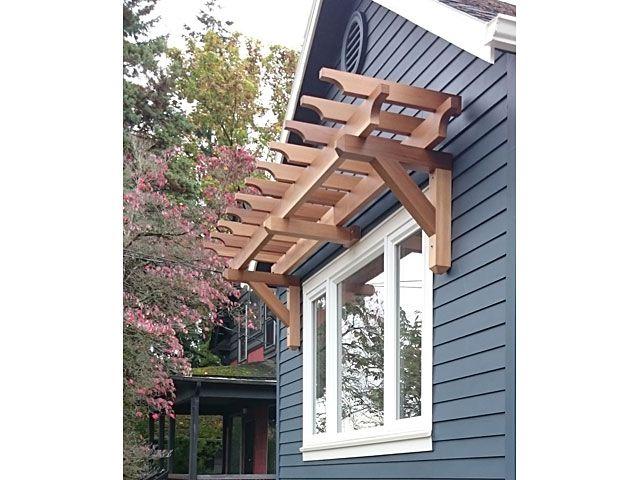 Custom Western Red Cedar Craftsman Style Window Pergola Window Pergolas Pergola Pergola Designs