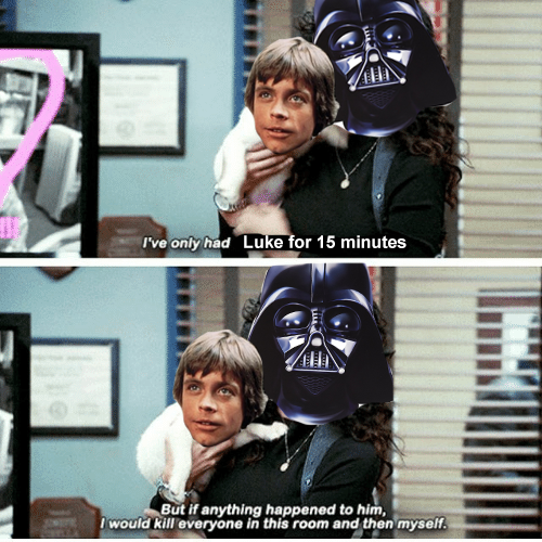 No One S Ever Really Gone Star Wars Humor Star Wars Fandom Star Wars Memes
