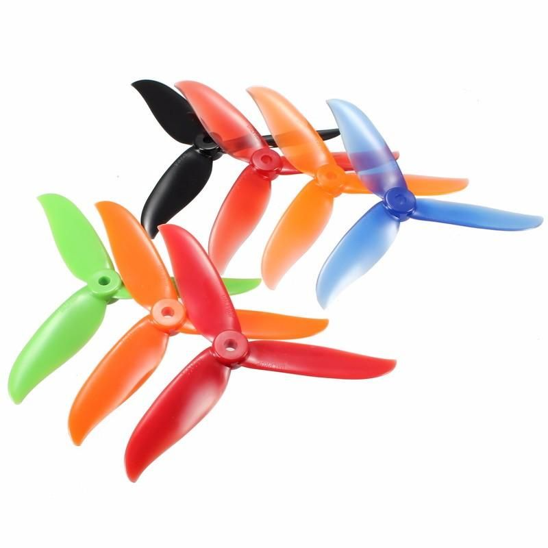 2 Pair 5048 Prop 3 Leaf Propeller 5.0mm Mounting Hole DIY For Racing Drone