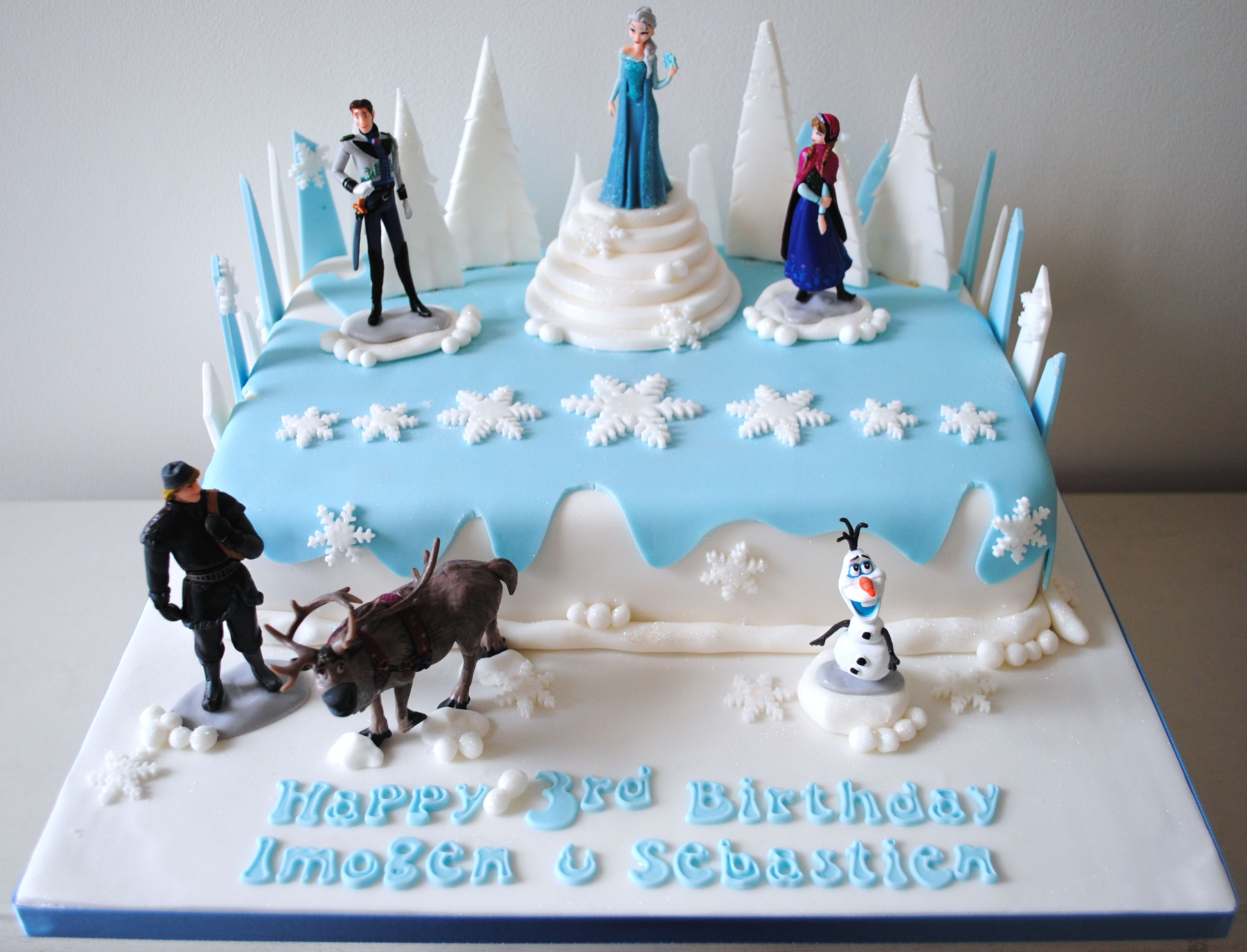 frozen birthday cake - Google Search kids birthday party ...
