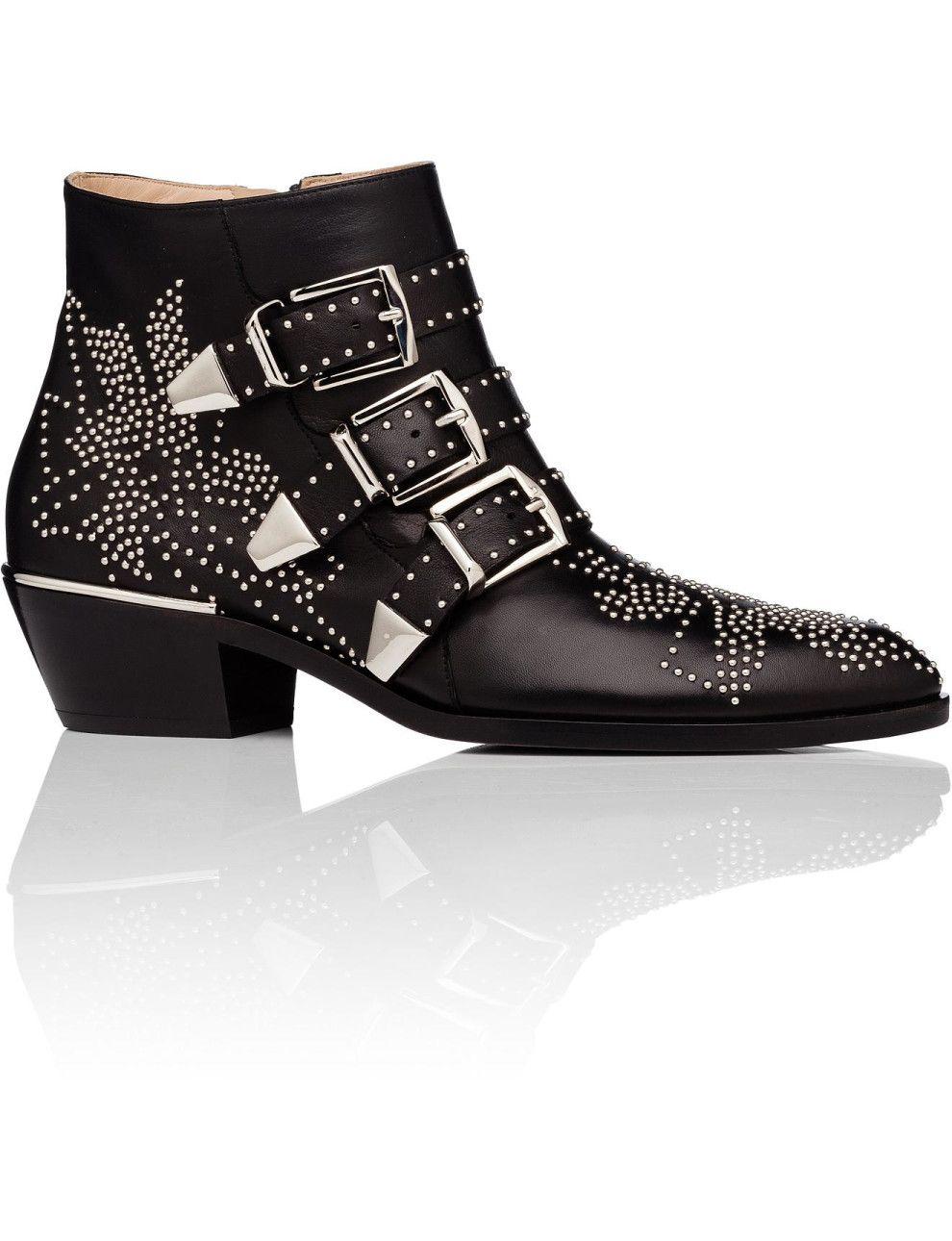 97a489848c25 Susanna Boot W  Silver Studs