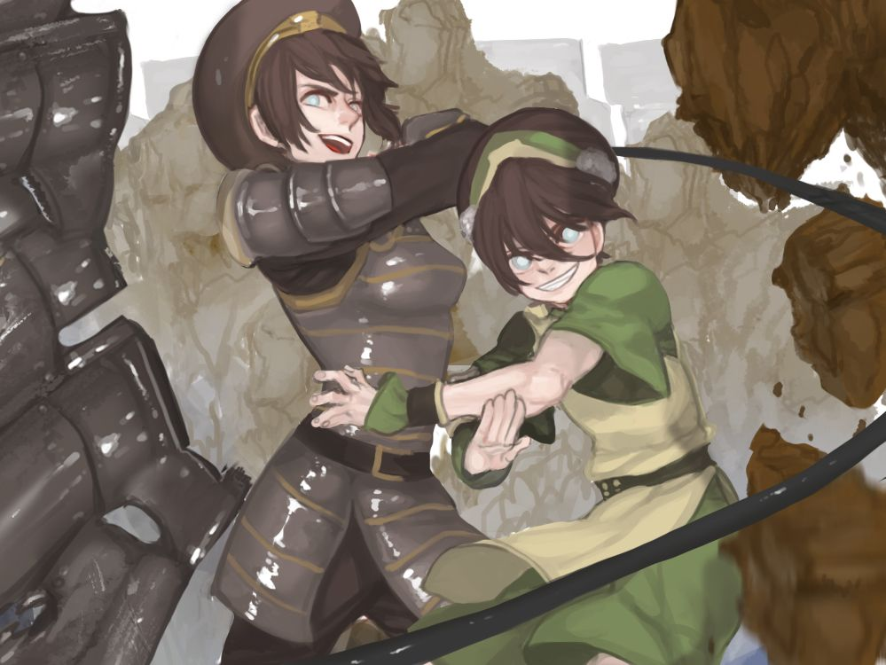 Tags Fanart Pixiv Avatar The Last Airbender Toph Bei Fong