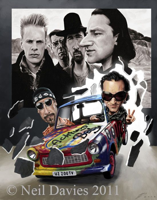 U2 From Rattle Hum To Achtung Baby