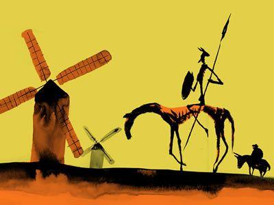 Don Quijote de la Mancha | Don Quijote de la Mancha con su ...