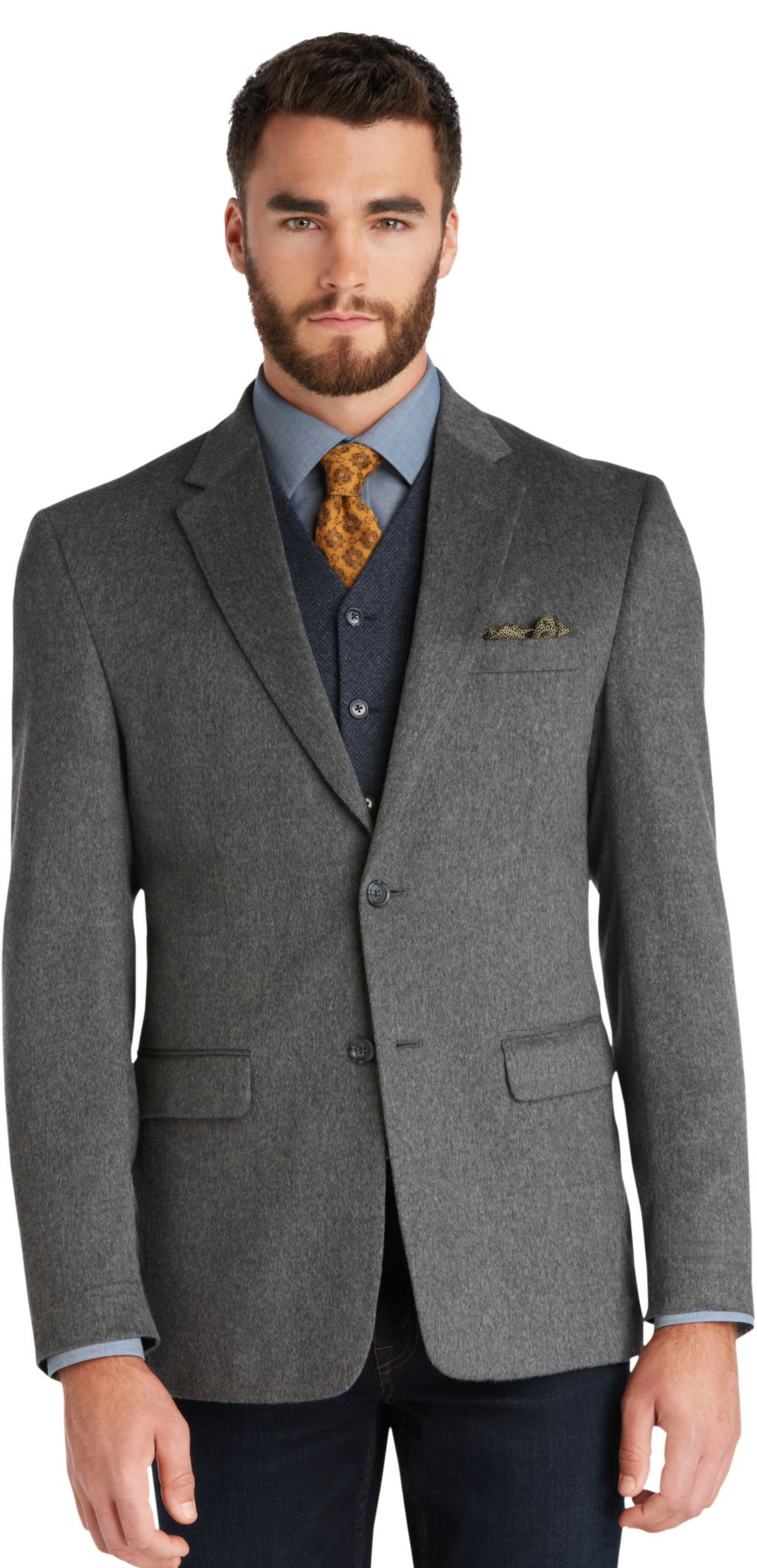 Jos.a.bank.Executive 2Button Wool/Cashmere Sportcoat