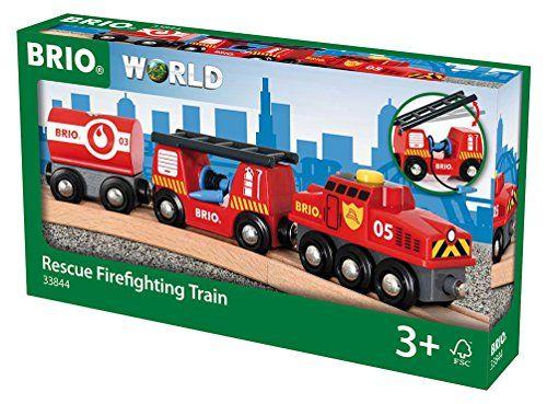 BRIO Feuerwehr-Löschzug Brio