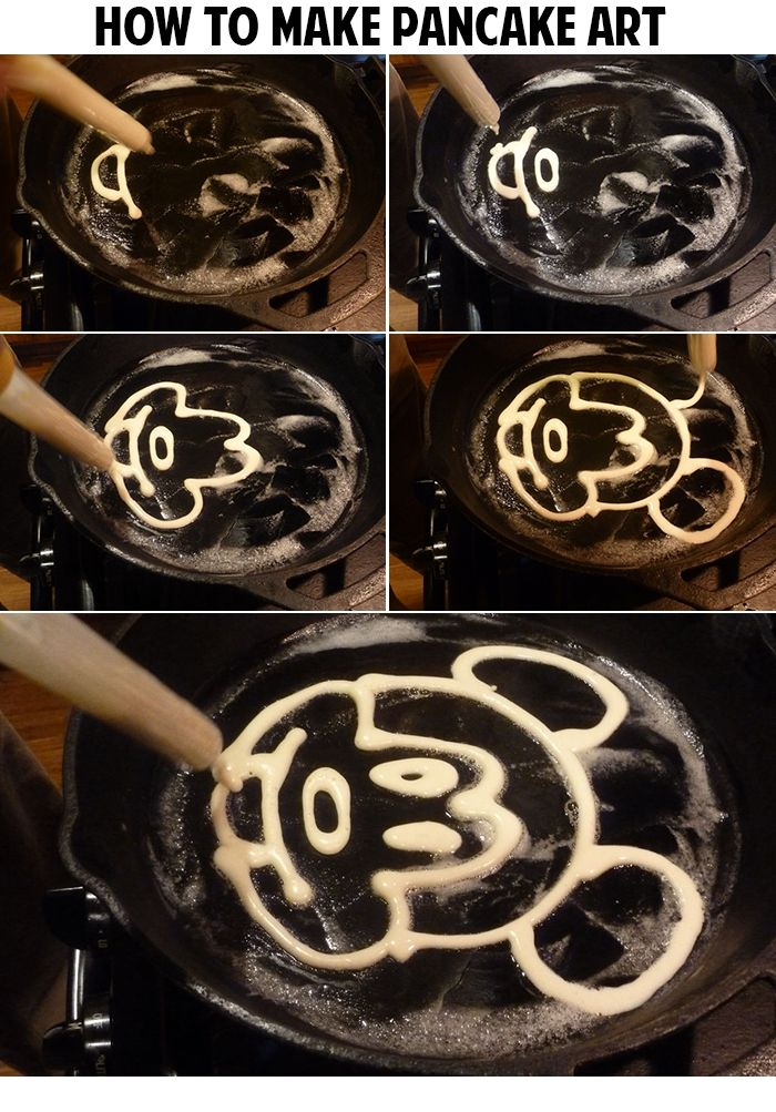 How to make pancake art share todays craft and diy ideas how to make pancake art share todays craft and diy ideas pinterest pancake art pancakes and food ccuart Gallery