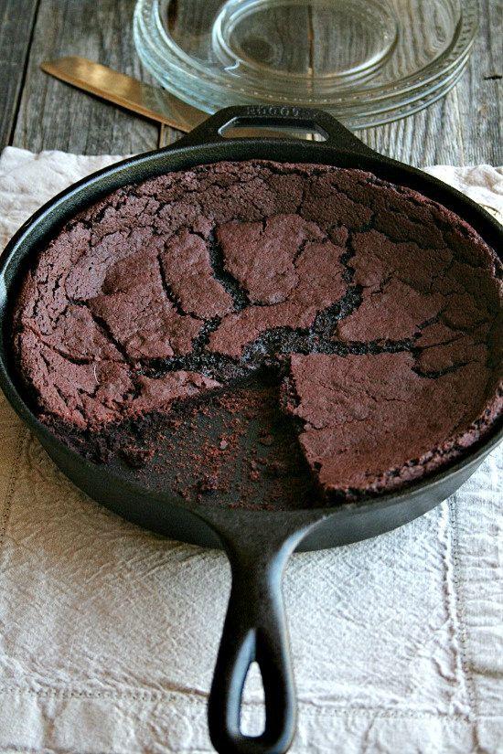 Red Velvet Skillet Brownie Recipe Skillet Brownie Gourmet