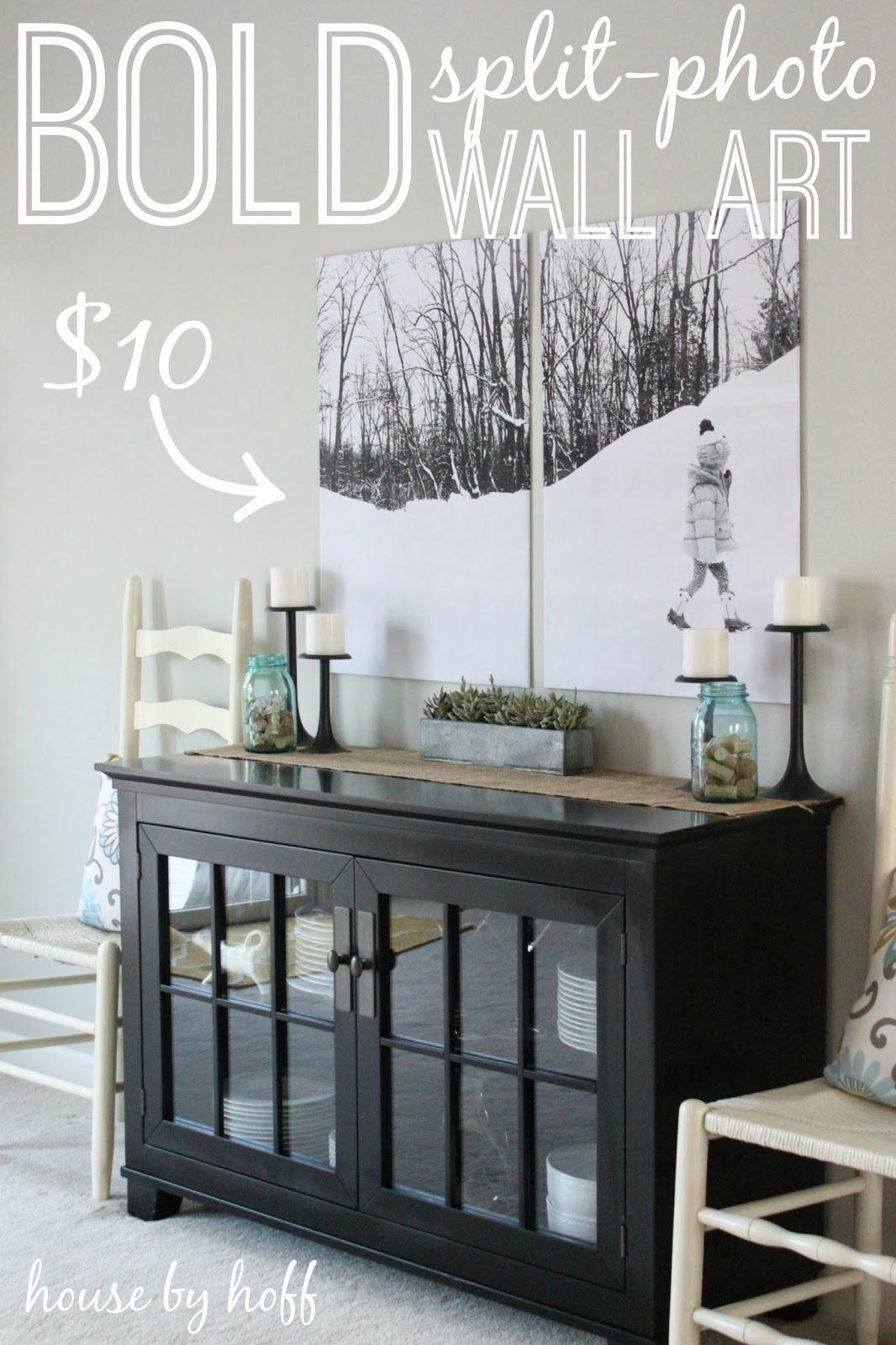 Split Photo Wall Art With Images Photo Wall Decor Wall Decor