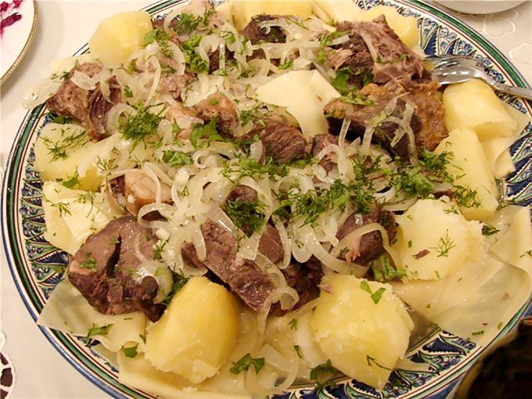 Рецепты казахских национальных блюд с фото