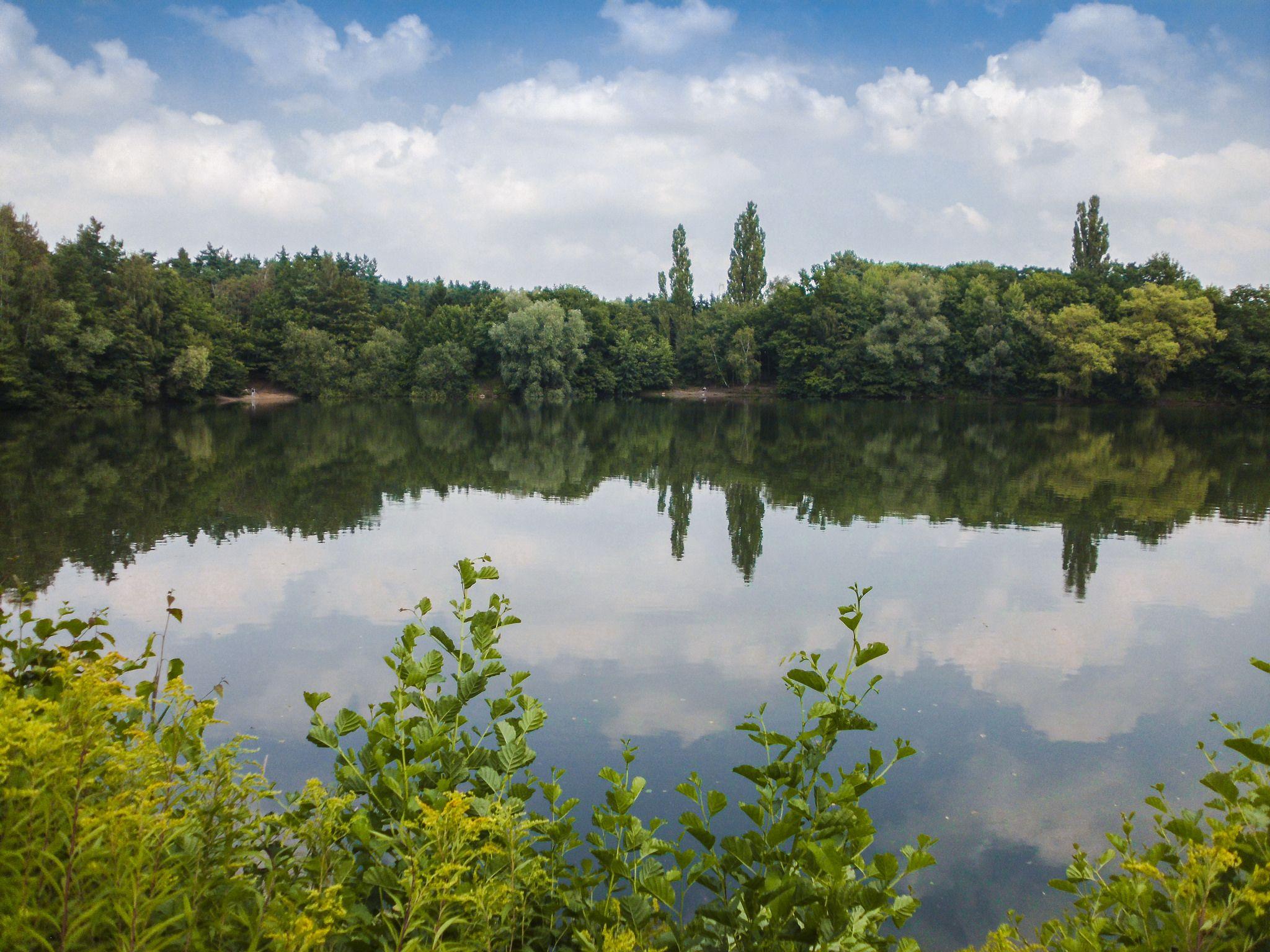 the Blue Lake / der Blaue See (218/365) | Water, Outdoor