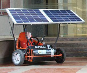 Solar Powered Go Kart Solar Panels Solar Energy Panels Solar