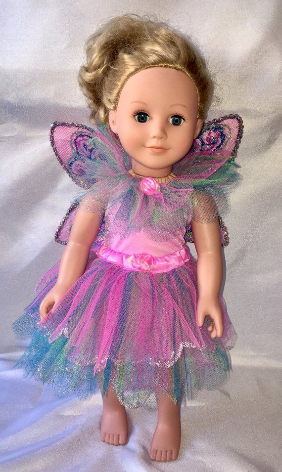 ea0d036c56e American Girl Doll Fairy Princess Dress Girls Dresses
