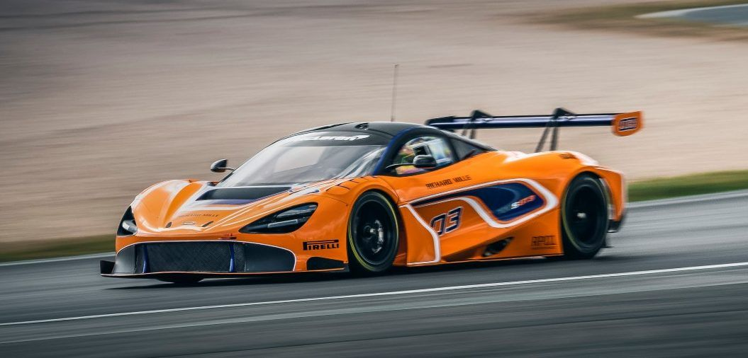 McLaren 720S GT3 For Sale Already While Testing Underway