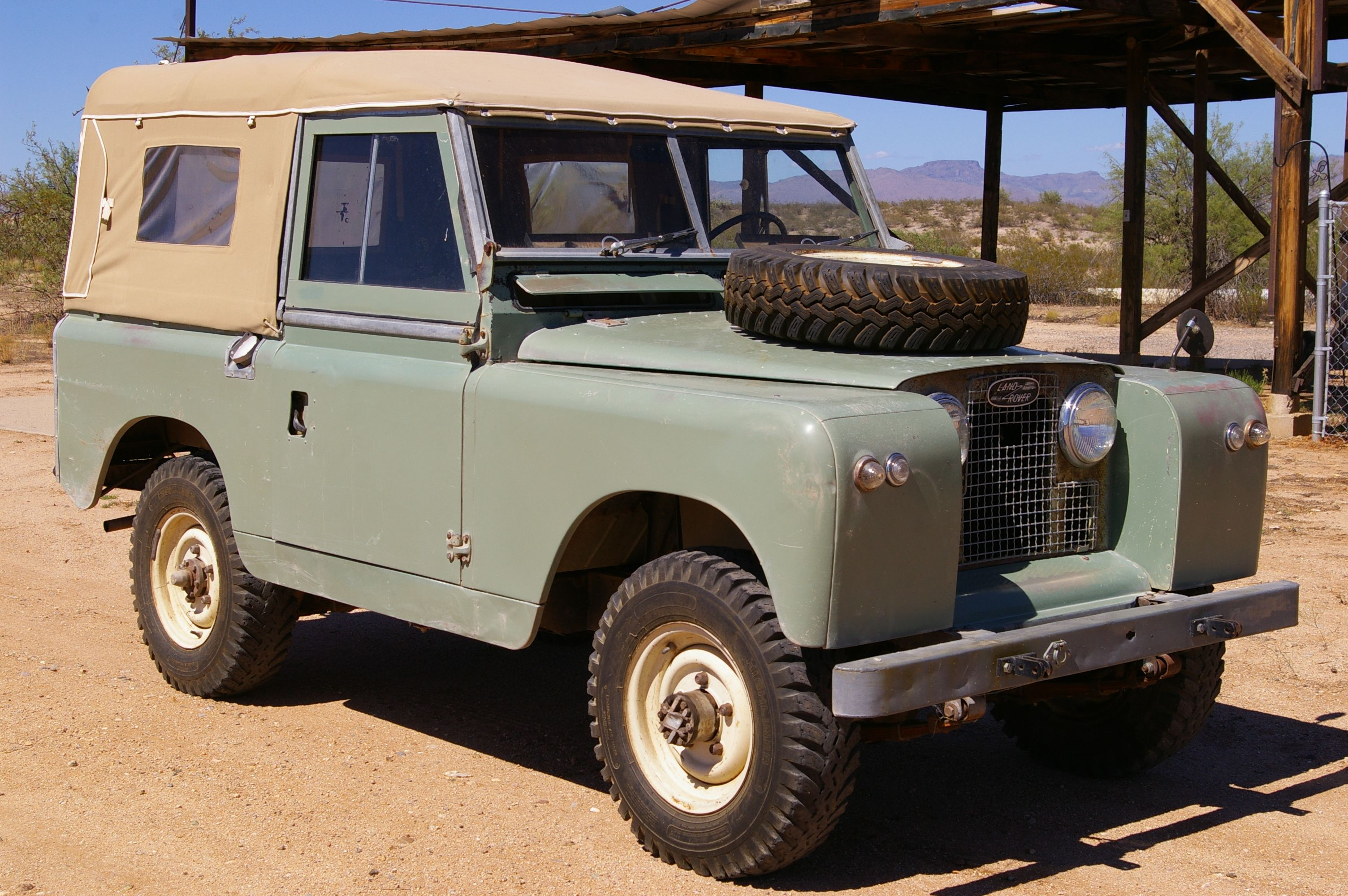 Garage Sale Rover 1964 Series Iia Land Rover For Sale Update Sold On Ebay Land
