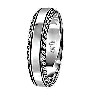 Scott Kay Vintage Collection Mens Wedding Band Mens Wedding Bands White Gold Mens Wedding Bands Wedding Rings Vintage