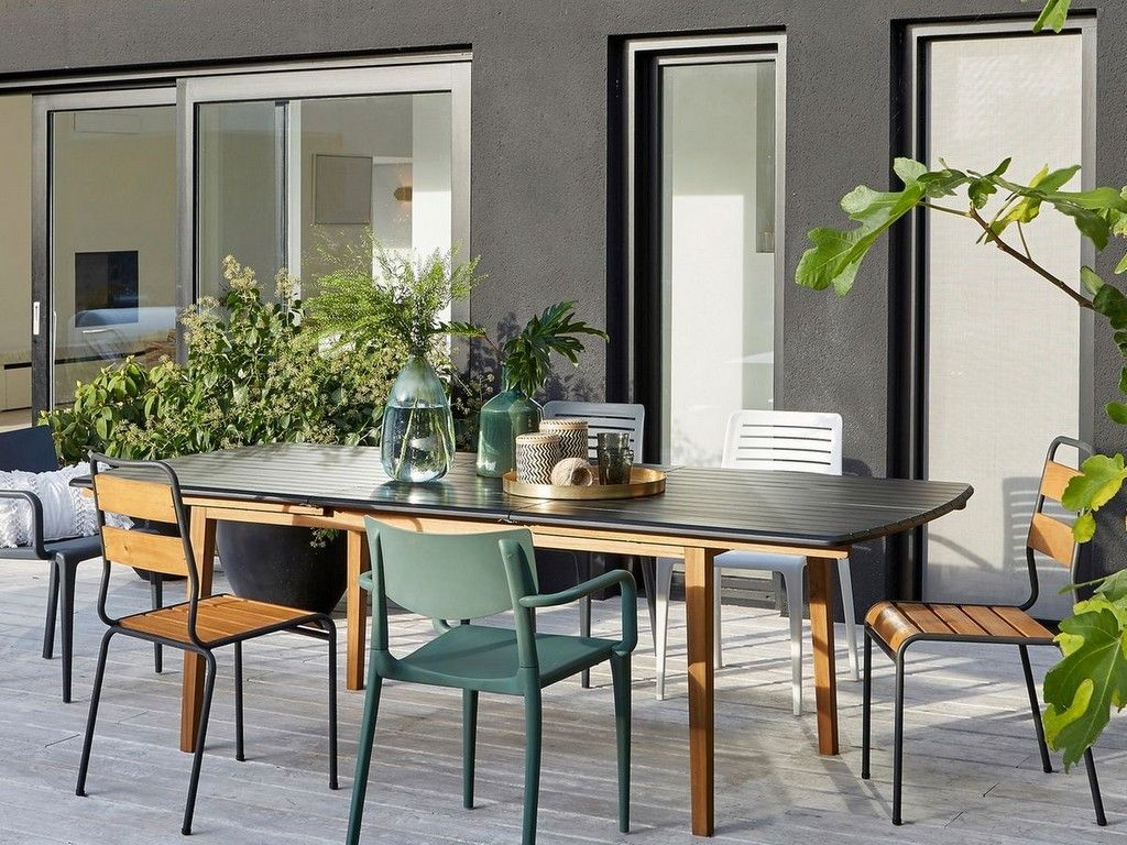Comment décorer une terrasse avec du noir | Deco extérieur | Pinterest