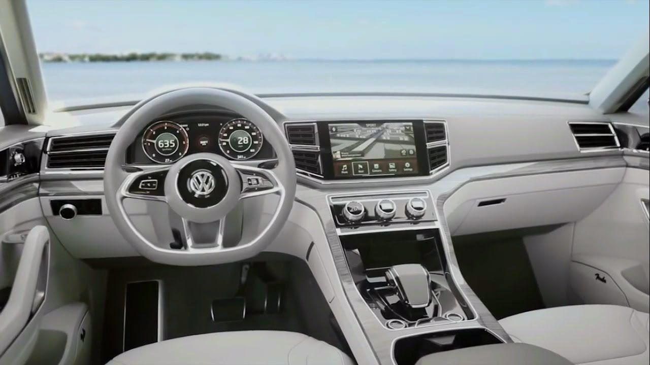 Vw Atlas Interior >> New 2018 Volkswagen Atlas Interior 2018 New Volkswagen