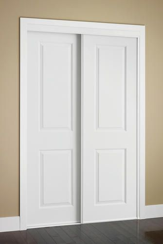 Colonial Elegance Cambridge 60 X 80 1 2 Bright White Frame Primed Ready To Finish Embossed Sliding Door Panels Closet Doors Sliding Closet Doors Doors