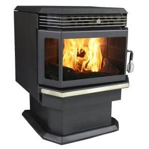 US Stove 2,200 sq. ft. Bay Front Pellet Stove-5660 ...