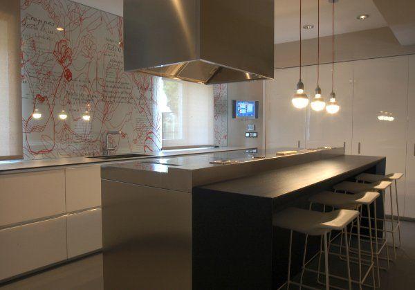 imagenes de cocinas modernas, cocinas con isla, cocinas modernas
