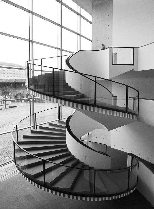 spiral staircase by krotzebojer