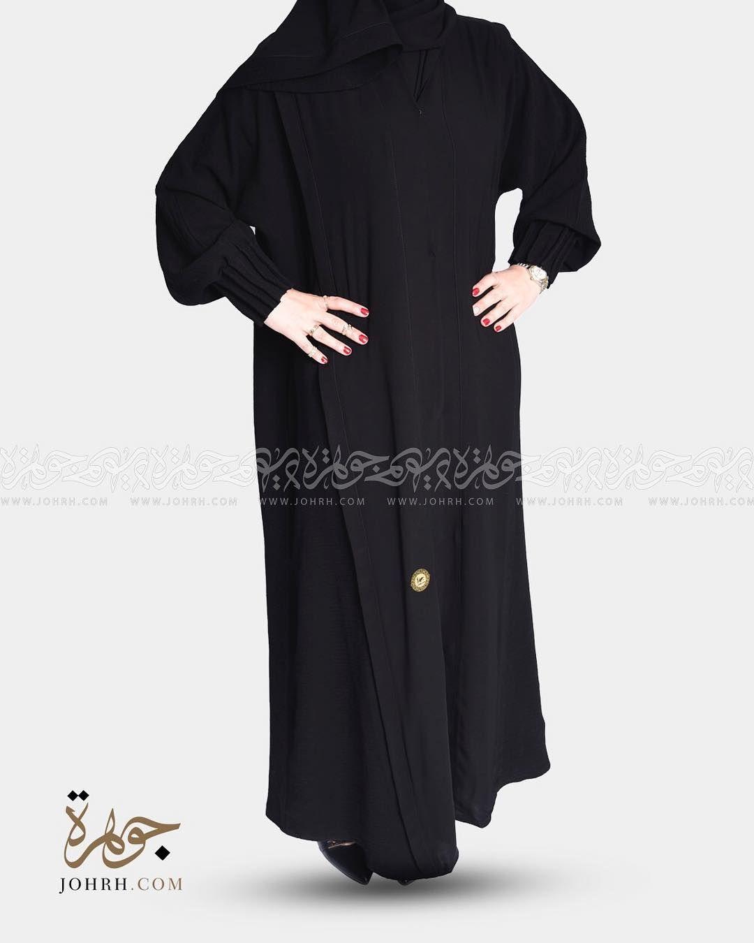 رقم الموديل 1389 السعر بعد الخصم 220 ريال تصميم يتناغم فيه خامتين من القماش بحيث ياتي الكريب الملكي Long Sleeve Dress Dresses With Sleeves High Neck Dress