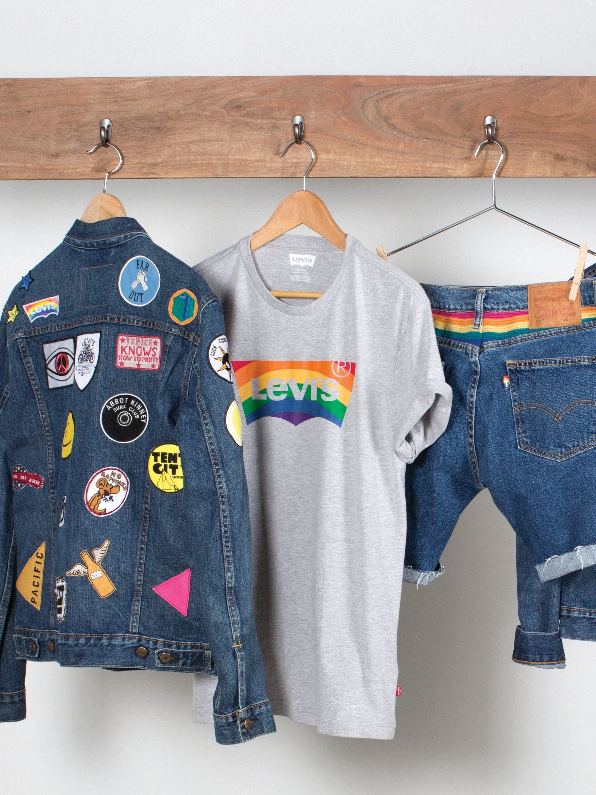 2fcf62ffcf89 The 2015 Levi s Pride Collection celebrates key moments in Gay Rights  history and was designed for all with singular silhouettes selected despite  gender.