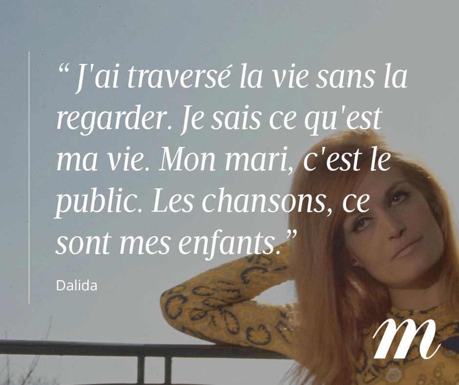Citation Dalida