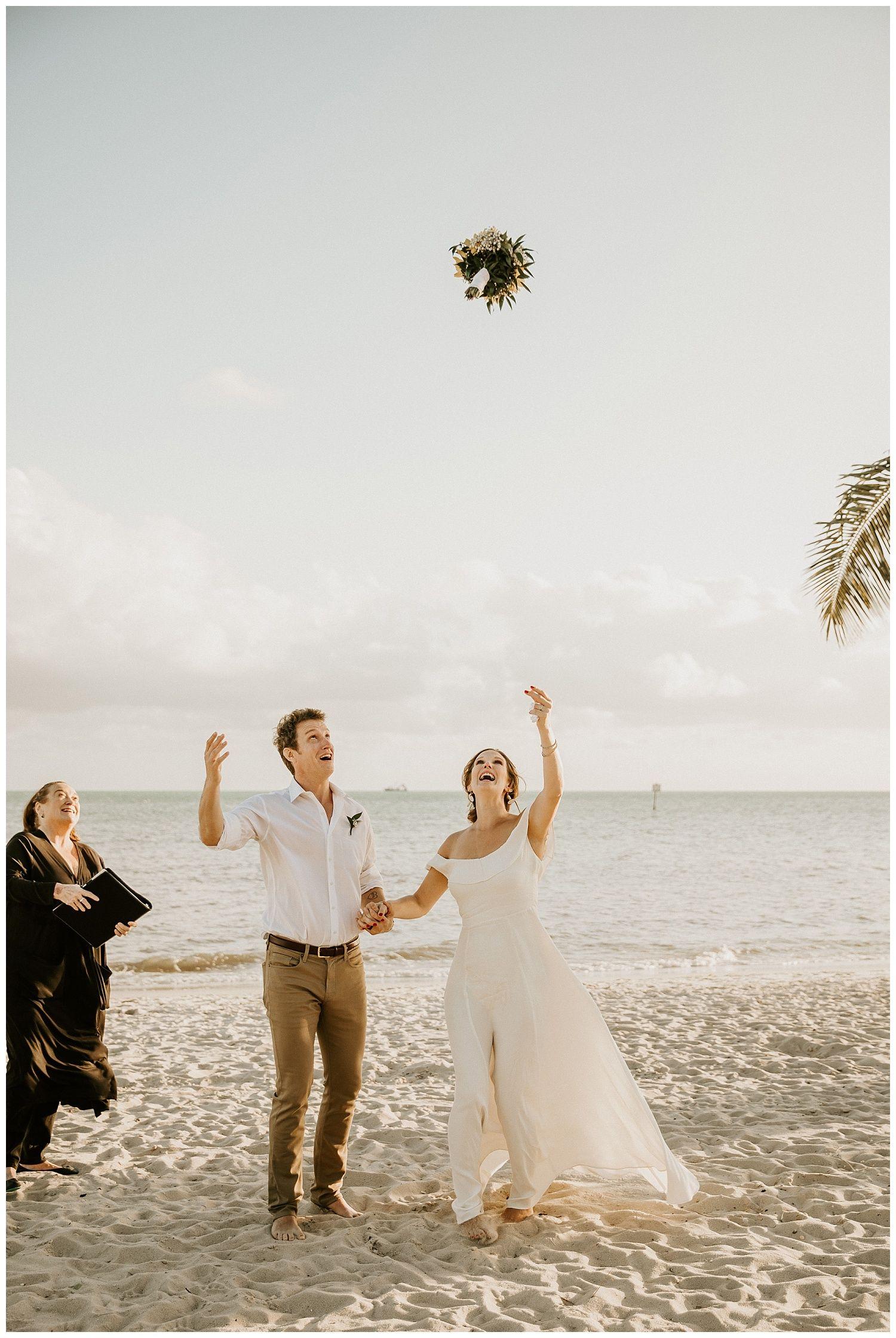 Smathers Beach Elopement Beach Elopement Palm Beach Wedding Destination Wedding Photographer