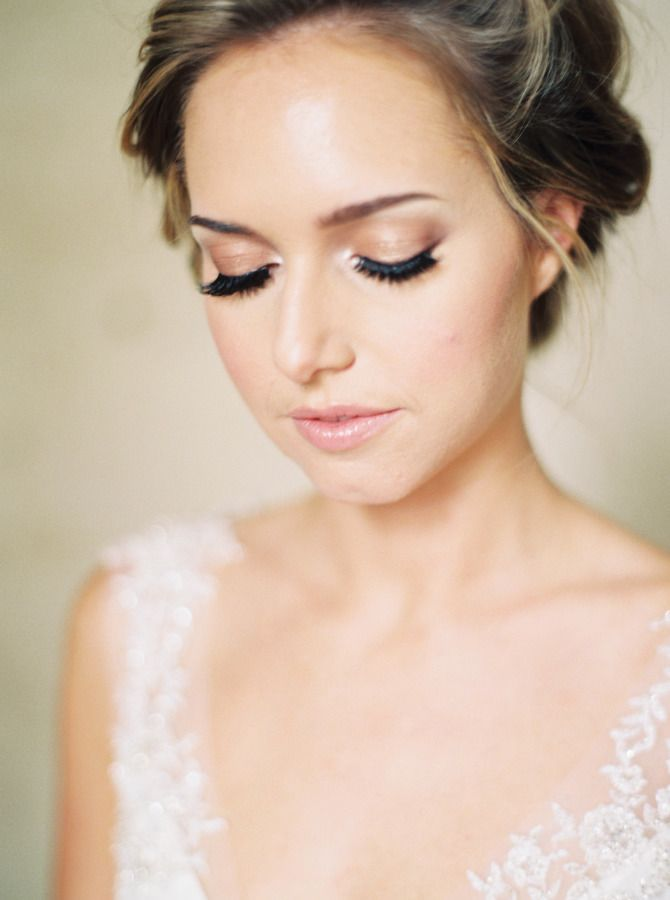 Organic French Bridal Inspiration | Wedding Makeup + Hairstyles ...