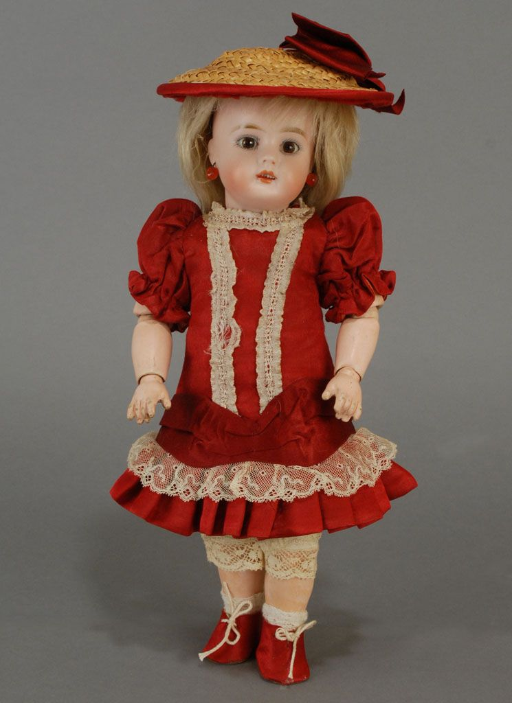 Bahr & Proschild 2 — Bisque Child Doll 207 (745×1024)