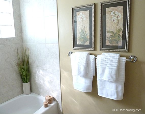 Decorating Towels In Bathroom Modern Decorative Hand For