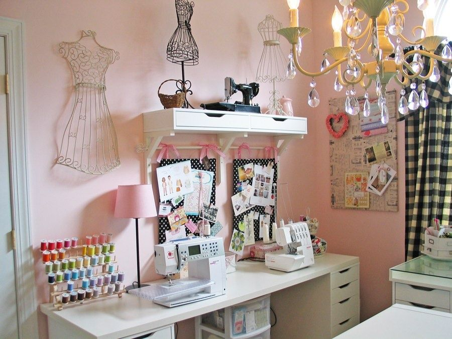 sewing room design ideas small space. small sewing room ideas | dreamy studio {olabelhe} - everythingetsy.com design space :