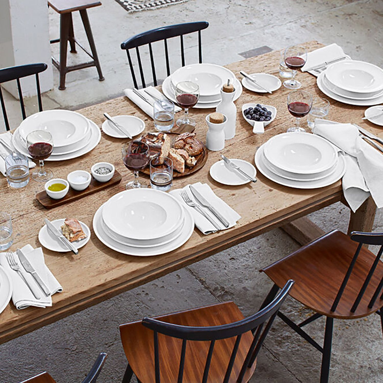 Villeroy Boch Artesano Original Dinnerware Round Charger Service Plate 29cm H 2cm Dia 29cm Plates Bowls Dinnerware White Dinnerware
