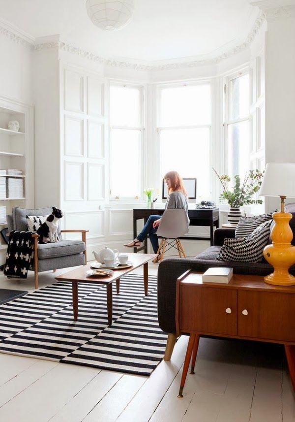 Monochrome Apartment In Edinburgh New House Decor Inspiration