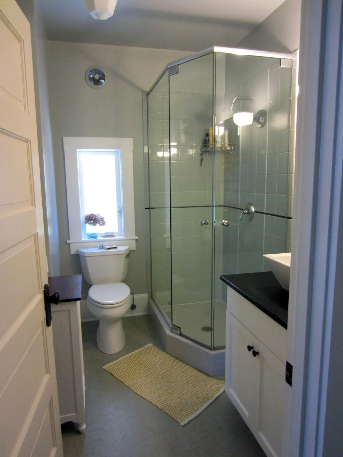 Small Bathroom Remodel Ideas With Shower Only: Simple Small Bathroom Ideas With Shower Only On Small