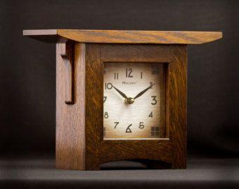 Craftsman Style Mantel Clocks Craftsman Style Mantel Clock